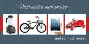 silent auction preview