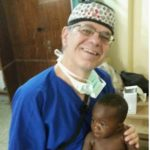 Michael and 10 month old - Ghana