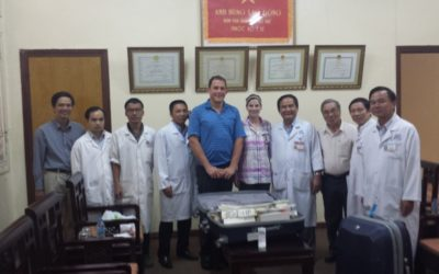 Dr. Andrew Leone Travels to Vietnam With IVUmed
