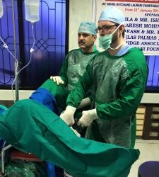 Dr. Timothy Brown, IVUmed Resident Scholar, Travels to Bhopal, India