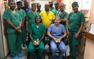IVUmed Resident Scholar, Dr. Kabra, Helps Teach Laparoscopic Nephrectomy in Trinidad