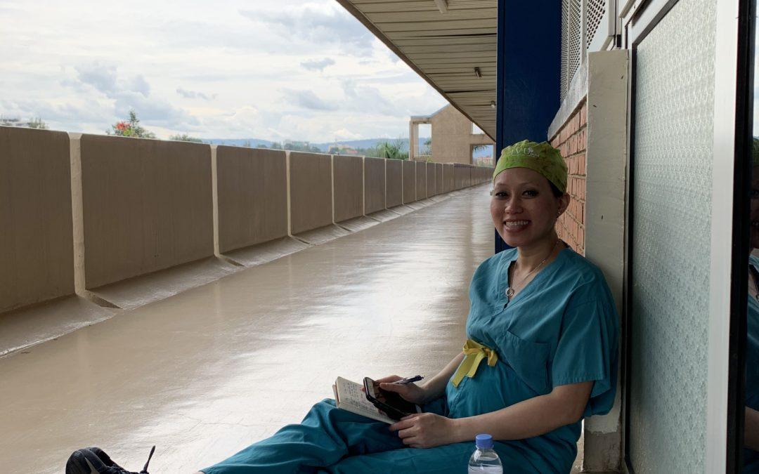 Resident Scholar Dr. Hong Truong Volunteers in Rwanda