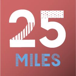 Virtual 25 Miles