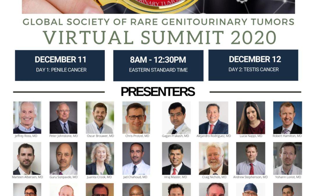 Global Society of Rare Genitourinary Tumors Virtual Summit 2020