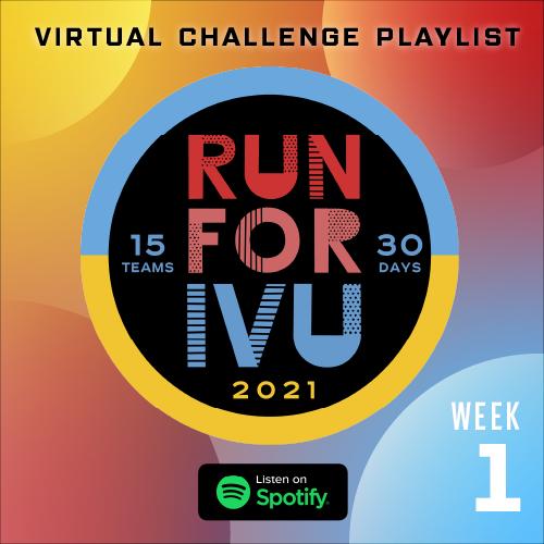 Run for IVU Week 1 Playlist