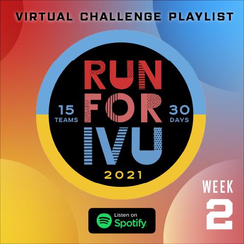 Run for IVU Week 2 Playlist