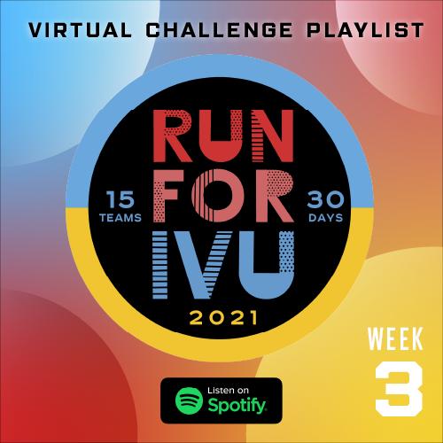 Run for IVU Week 3 Playlist